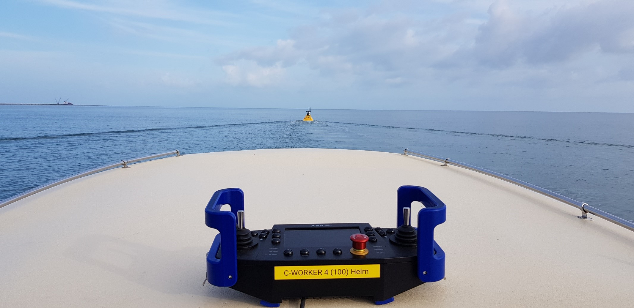C-worker 4 starting a day's surveying from Belize Marina in 2019