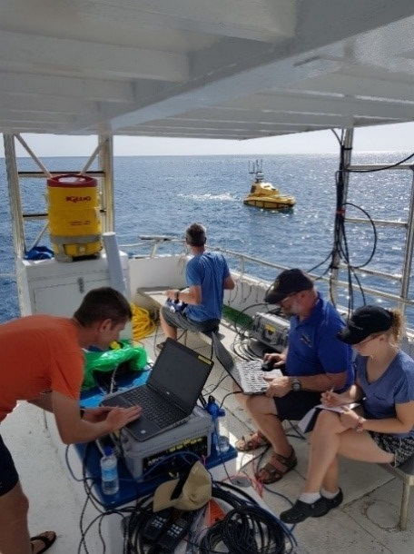 Data collection in Dominica, 2019
